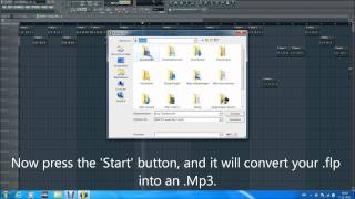 How To Convert Your FL Studio Beats Into Mp3.