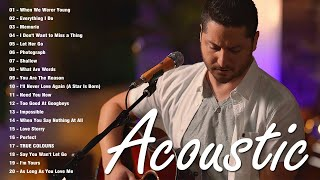 Guitar Acoustic Love Songs 2021 - Great English Acoustic Cover Of Popular Songs - Sad Songs Cover