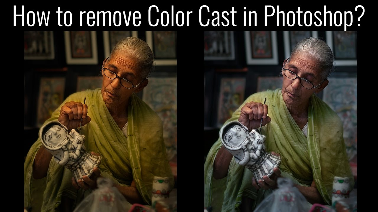 How to fix color cast in photoshop - How To Remove Color Cast In Photoshop