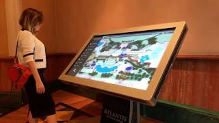 Atlantis the Palm new wayfinding Kiosk