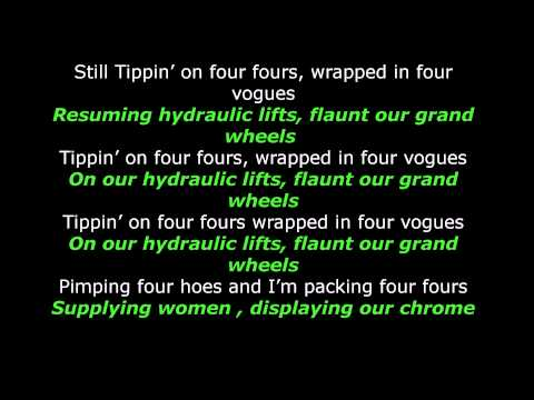 Mike Jones  - Still tippin  - Lyrics - LyricallyArticulate