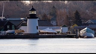 Lighting The Way For Ships: Learning about Lighthouses at Mystic Seaport
