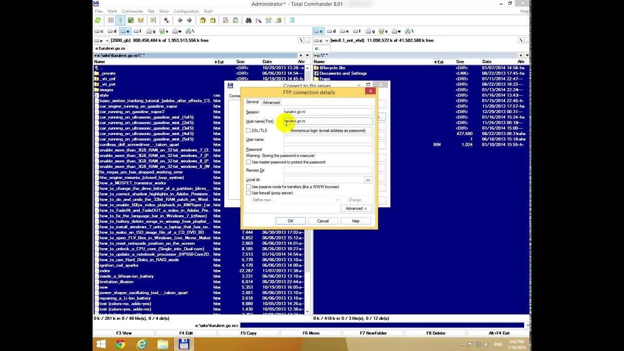 ftp commander free download windows 7