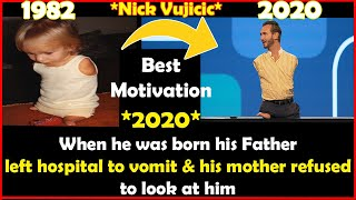 Nick 'James' Vujicic *2020* The Man Characterized by Absence Of Arms & Legs |Best Motivational Video