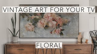 Still Life Floral | Vintage Art Slideshow for your TV | 1hr of 4K HD Paintings