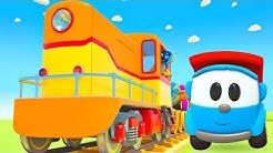 Deutscher Cartoon für Kinder - Leo und seine Freunde - Wir bauen eine Lokomotive