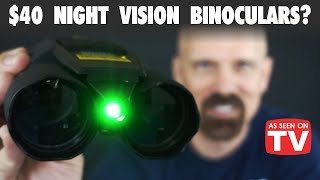 Night Hero Review: Night Vision Binoculars? *As Seen on TV*