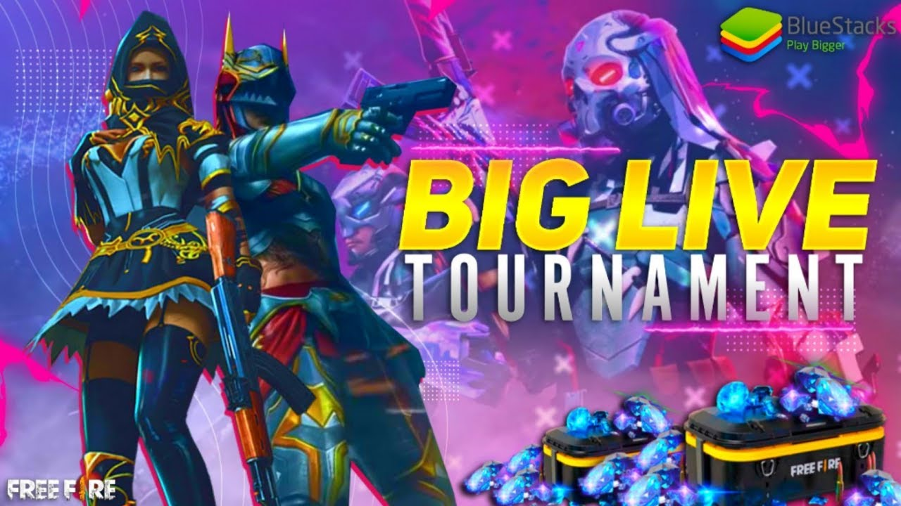 🔥FREE FIRE LIVE TOURNAMENT 🔥 POWERED BY BLUESTACK 🔥 #HINDI