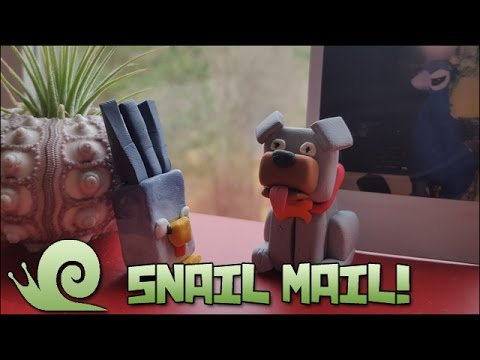 Gifts from the Bird Master!! || Snail Mail Vlog! Part One!