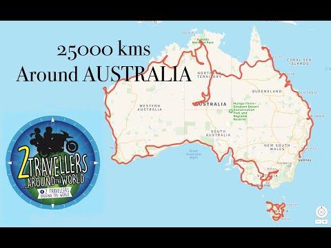 Motorcycle Journey Around AUSTRALIA