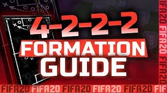 FIFA 20: OFFENSIV POWER !! 4-2-2-2 FORMATION GUIDE