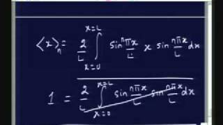 Lecture - 3 Particle in a box (One and Two Dimensions) contd