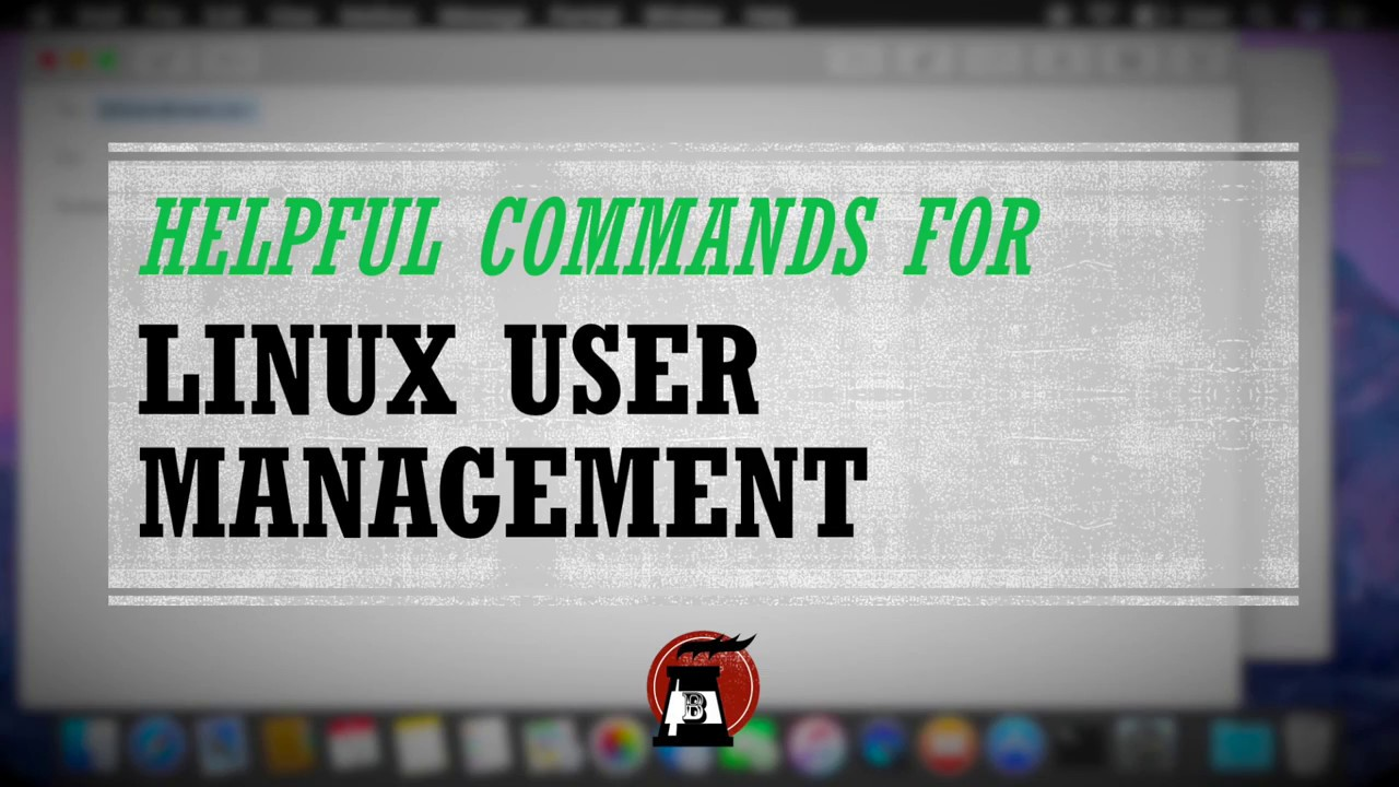 Simple Linux User Management Commands