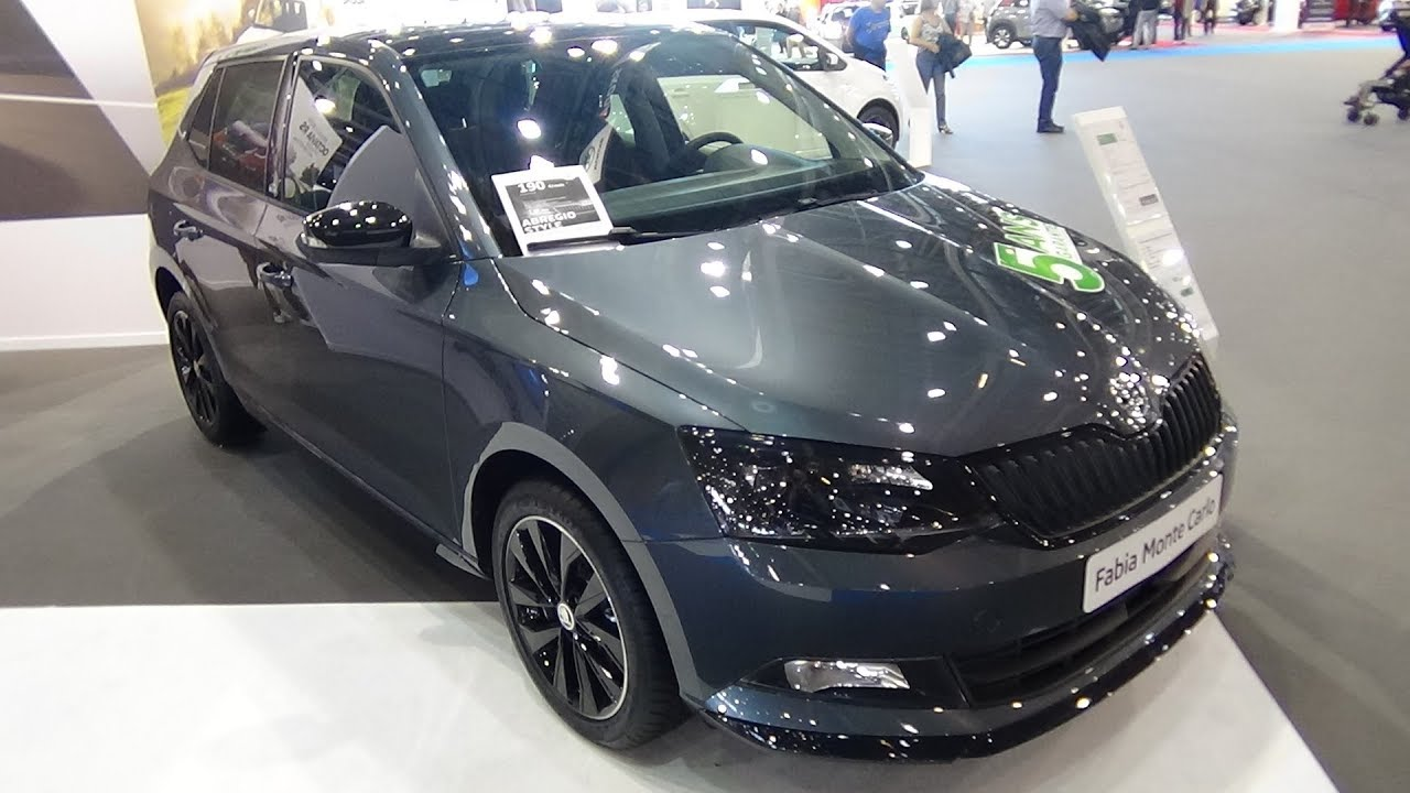 2018 skoda fabia monte carlo 1 0 tsi 95 exterior and interior salon automobile lyon 2017. Black Bedroom Furniture Sets. Home Design Ideas