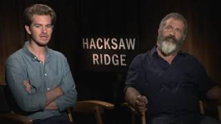 Hacksaw Ridge: Mel Gibson & Andrew Garfield Official Movie Interview