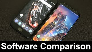 OnePlus 5 vs Samsung Galaxy S8+ Software Comparison