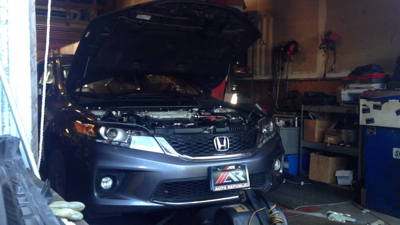 2017 Accord 6 J Pipe Injen Cai Flashpro Tuned By Hybridworks In Vallejo Ca
