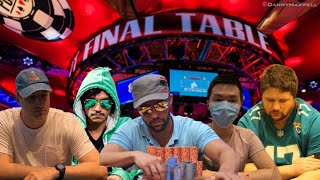 2020 World Series of Poker Main Event Final Table Preview
