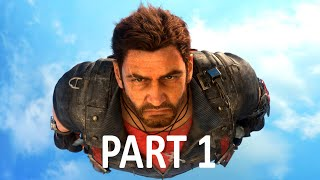 just cause 3 gameplay walkthrough part 1 campaign mission 1 ps4