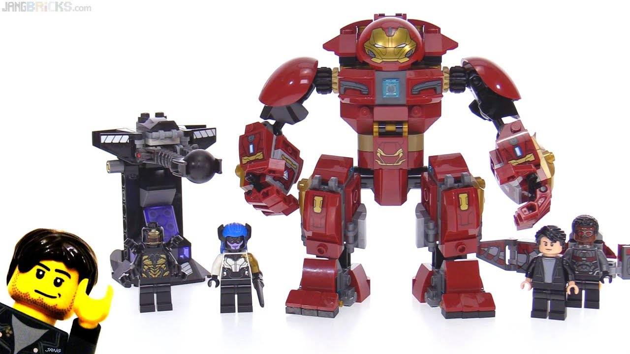 Lego Avengers Infinity War Hulkbuster Smash Up Review 76104 Youtube