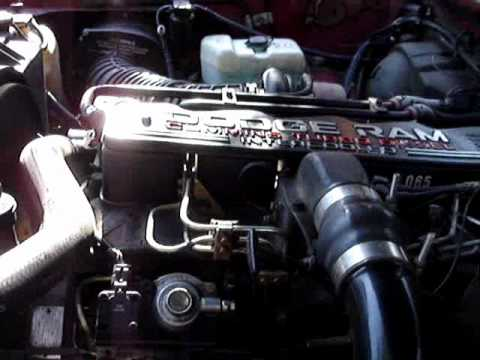 1992 Dodge Ram Cummins Turbo Diesel Wmv Youtube