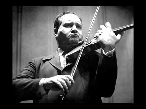"David Oistrakh Plays Ysaye Sonata no.3 ""Ballade"", 1955 Concert in Japan"