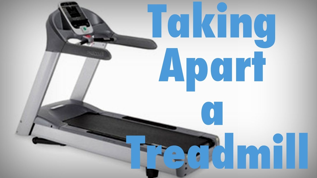 c09719a33b7cbb Taking Apart a Treadmill - YouTube