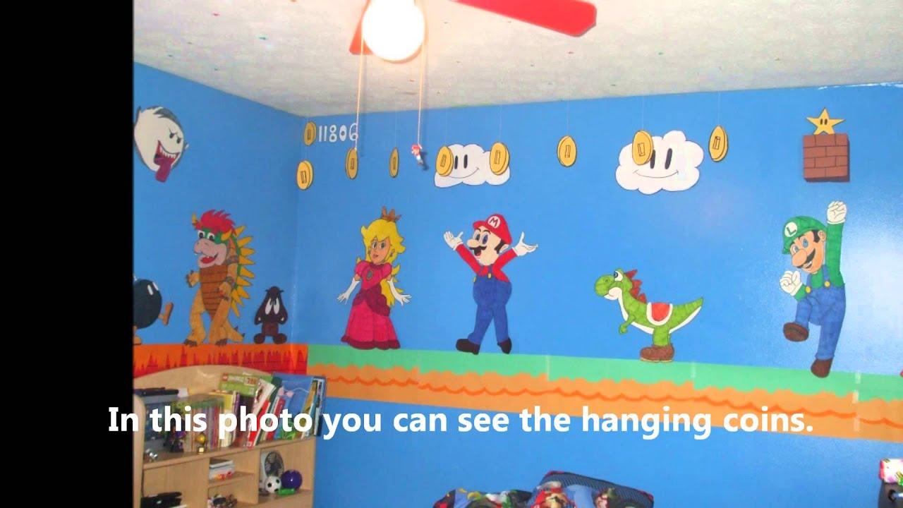 Mario Bedroom Decor
