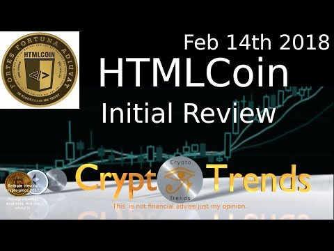 HTMLCoin- How I do initial remote views on crypto.