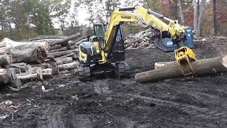 Video still for Hultdins MG12 Grapple on Yanmar 100