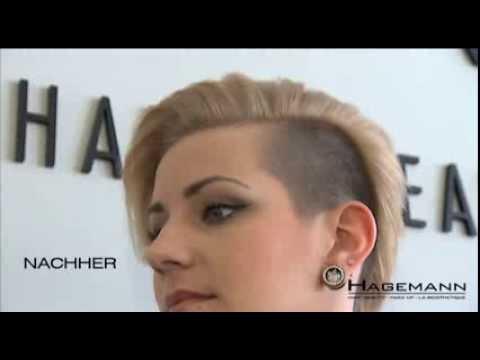 Sidecut Frisuren Im Vorher Nachher Vergleich YouTube