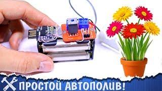 💧Простой автополив растений своими руками!