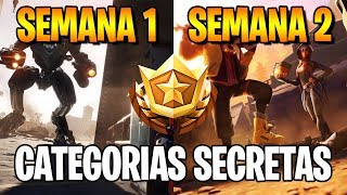 CATEGORIES SECRET-SEMAINES 1 ET 2-FORTNITE