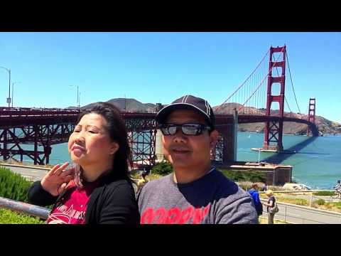 Visiting Golden Gate Bridge June 2016