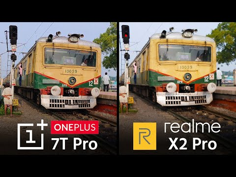 OnePlus 7T Pro vs Realme X2 Pro Camera Test Comparison With Videos