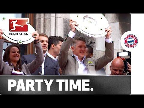 The After-Party - Bayern Take Title Celebrations Across Munich