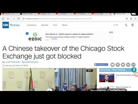 China Made An Attempt To Buy Out The Chicago Stock Exchange