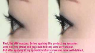 A Mascara review by KoreaCosmetics Thumbnail
