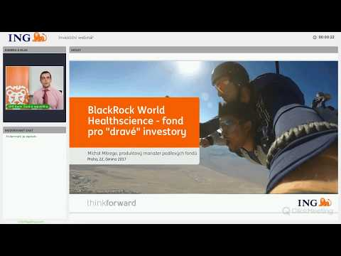 """30. webinář: BlackRock World Healthscience - fond pro """"dravé"""" investory"""
