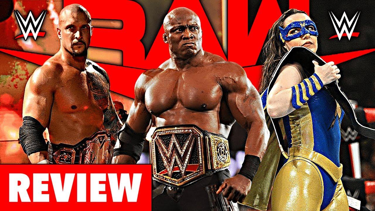 WWE RAW 🔴 Goldberg darf nicht, Outlaw Drew McIntyre & Nikki verteidigt nur fast! – Review 26.07.21