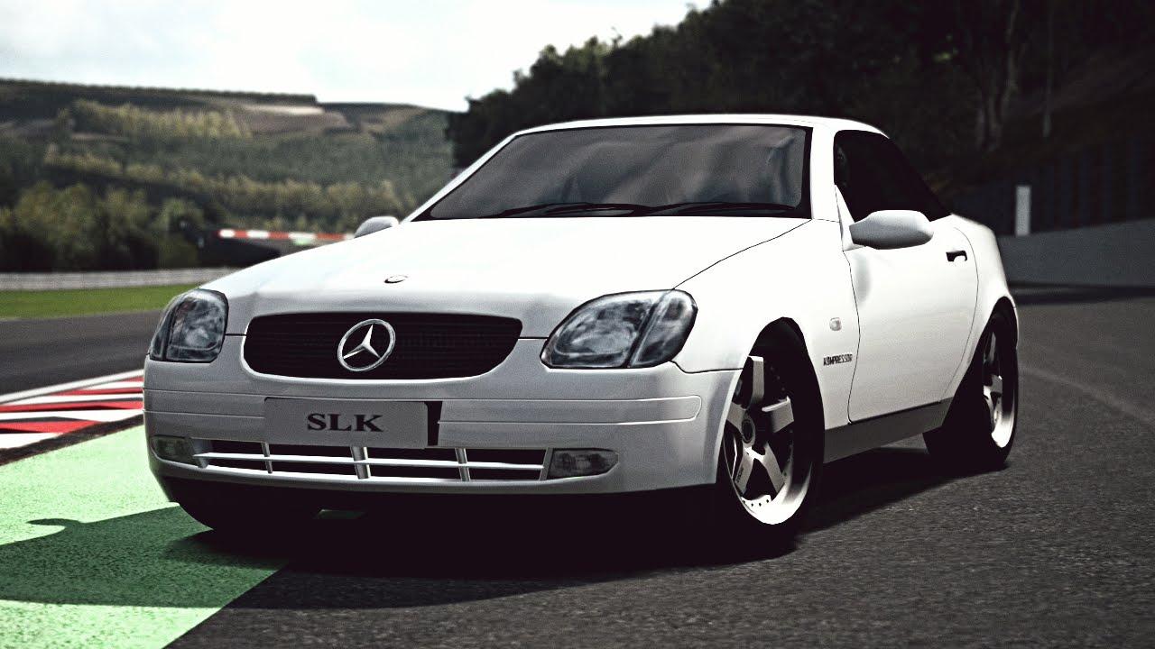 (GT6) Mercedes-Benz SLK 230 Kompressor '98 - Exhaust ...