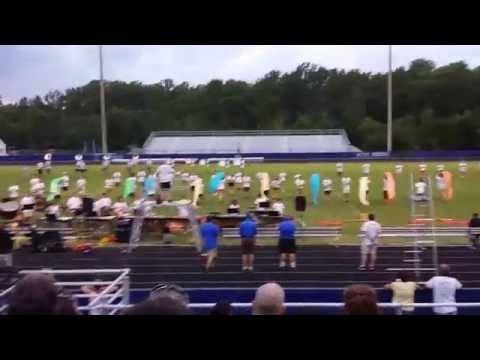 Atlee high school marching band performance