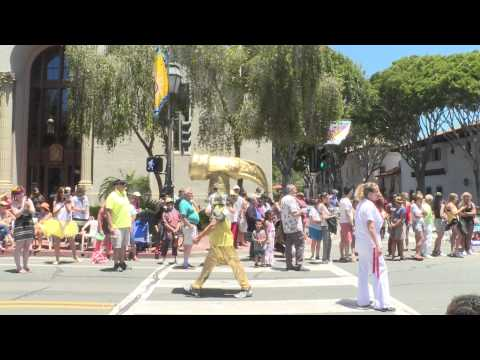 2015 Santa Barbara Summer Solstice Celebration parade