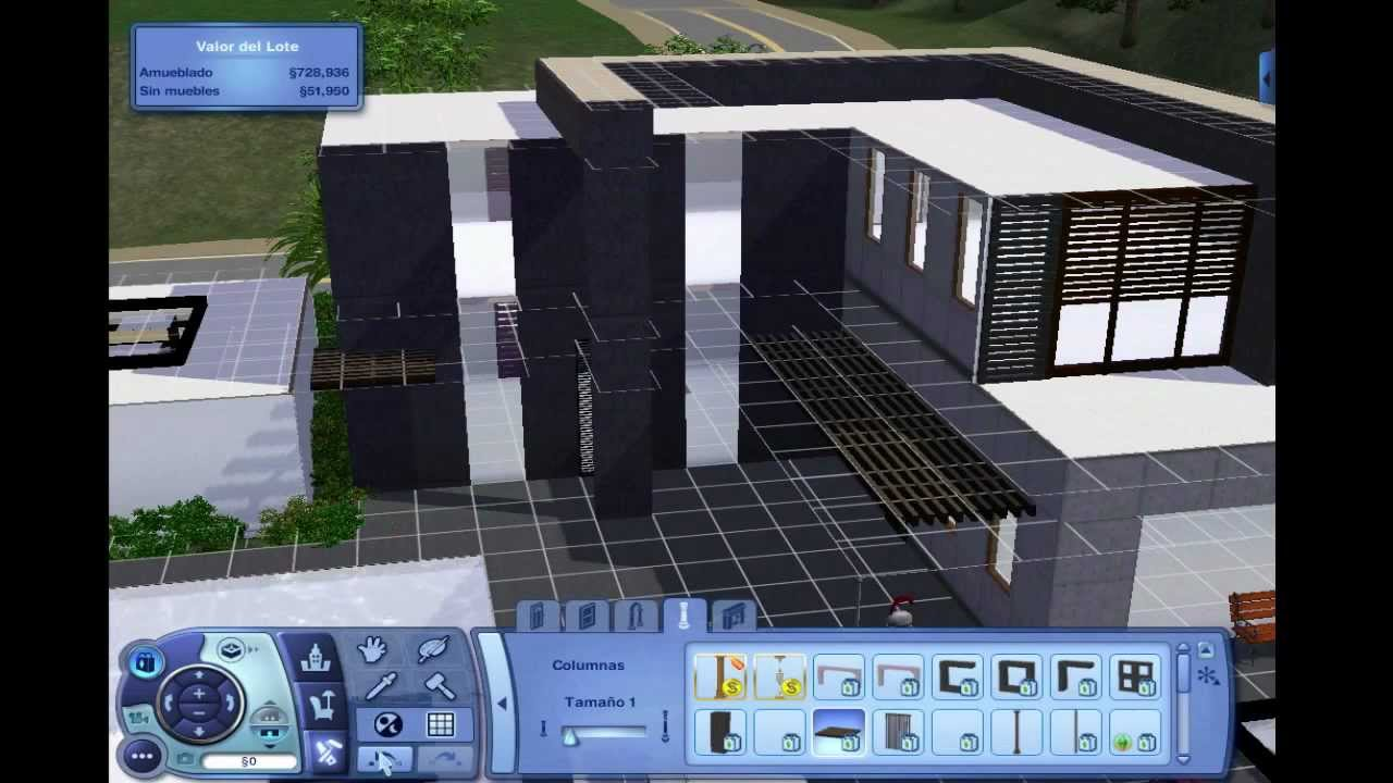 Modern House Plans Sims 4 - rts - ^