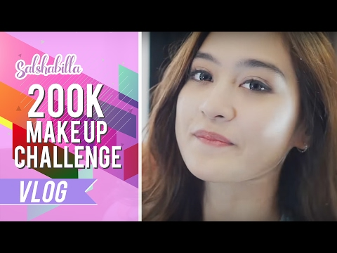 Salshabilla - 200K Make Up Challenge