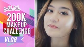 Salshabilla 200K Make Up Challenge