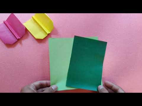 Origami Pesawat Sederhana Lv. 9
