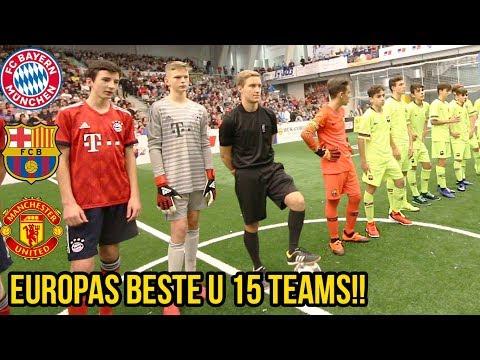 Europas beste u 15 Teams  I Fc Barcelona I Manchester United I Fc Bayern I Ac Milan
