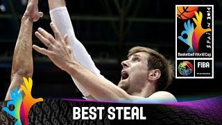 Argentina v Philippines - Best Steal - 2014 FIBA Basketball World Cup