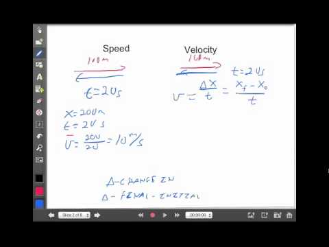 Linear Motion Lecture 1